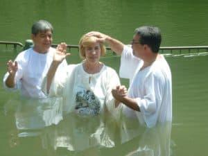 Taufe und Mittagessen